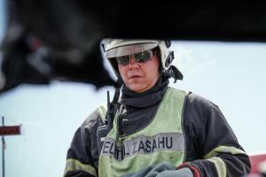 Ve Velké ceně Hořovic ve vyprošťování tým pražských hasičů skončil druhý