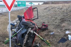 Tragédie na dálnici D1 u Hulína.Jedna osoba nehodu nepřežila