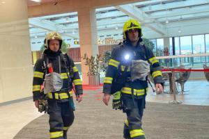 Požární signalizace vyhlásila planý poplach. Evakuace OC Šantovka