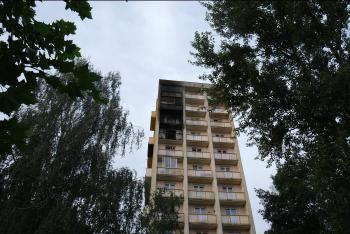 Ranní požár bytu v Ostravě-Porubě. Na požár upozornily kočky
