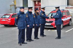 HZS Libereckého kraje se rozloučil s dlouholetým kolegou