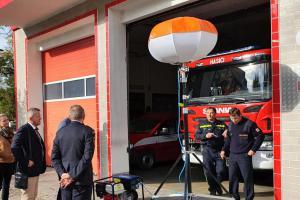 Světluška litovelských hasičů. Na noční zásahy jim posvítí balón