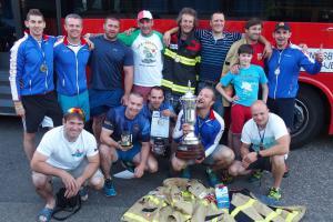 V týmu zlaté štafety na evropském mistrovství byli i zlínští profesionální hasiči