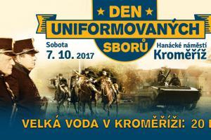 Den uniformovaných sborů v Kroměříži bude letos patřit profesionálům (VIDEO)