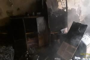 Požár v bytovém domě Plzeň - Lobzy, nikdo v bytě nebyl