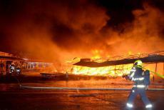 Tržnice u Chebu hořela již poněkolikáté. Něčí pomsta?