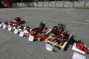 Dobrovolní hasiči získali od středočeských profesionálů vybavení pro zásahy