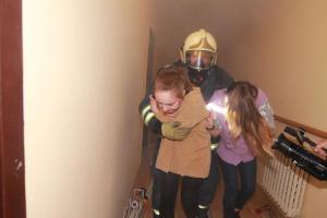 Fiktivní požár v mělnickém Centru seniorů tvrdě prověřil složky IZS