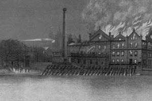 V roce 1896 do základů vyhořely na Kampě Odkolkovy mlýny