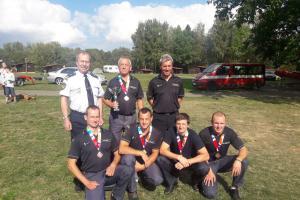 Vítězství z Mistrovství záchranných týmů a složek IZS obhájil HZS Cheb