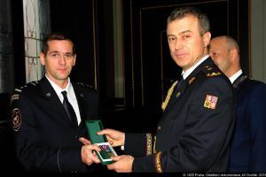 Pražští hasiči obdrželi medaile za věrnost a medaile HZS hl. m. Prahy