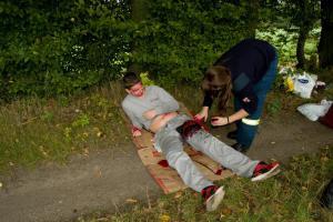 Vzhůru do terénu! Výcvik zdravotníků HZS Středočeského kraje v Hoříně