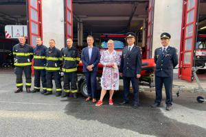 Nový člun pro záchranu osob do výbavy pražských hasičů