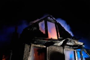 Požár chaty v Liberci: V ohni zemřel člověk, jiný utrpěl zranění