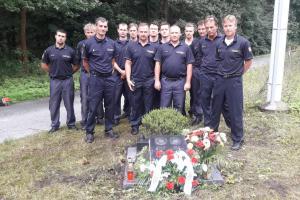 Nezapomínají. Hasiči uctili památku zemřelých kolegů při výkonu služby