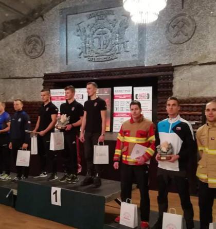 Zlínští hasiči opět uspěli v mezinárodní soutěži v běhu do schodů