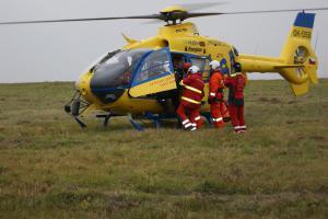 Hasiči na Ústecku mají další tři letecké záchranáře. Výcvik podpořil kraj