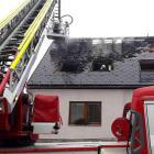 Požár v Dalově si vyžádal evakuaci 20 osob a jeden lidský život