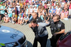 Den záchranářů v Říčanech na Masarykově náměstí přilákal stovky návštěvníků