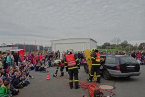 Hasičské stanice v MS kraji zaplavili na Den požární bezpečnosti školáci