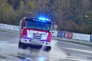 Hosté organizace CTIF navštívili Centrum bezpečné jízdy v Ostravě (VIDEO)