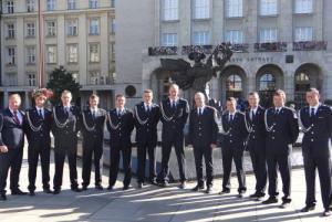 Oslava vítězství. Ostravský primátor přijal úspěšné hasiče-sportovce