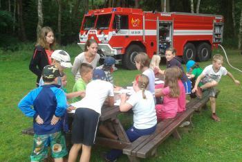 Akce pro děti: V pohodě do školy i se středočeskými hasiči