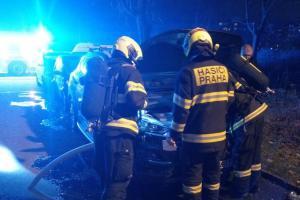 Pražští hasiči zažili nejklidnější silvestrovské oslavy za posledních 10 let