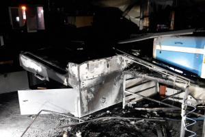 Noční požár v Chrášťanech u Prahy se škodou za tři miliony