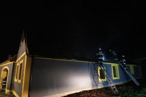 Pátek třináctého: ve Lžíně hořela střecha rodinného domu