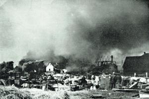 Velký požár v městě Mýtě v roce 1908