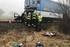 Za den dvě železniční nehody. Jedna z nich byla tragická
