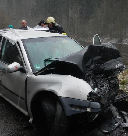 Tragická dopravní nehoda na dálnici D1, pasažéři byli mimo auto