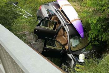 Ve Svitavách po nehodě zraněna spolujezdkyně, chodec a řidič taky