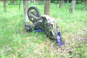 V minutě byl konec. Při nehodě u Borohrádku zemřel motorkář