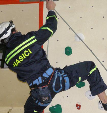 Pozor, hlášení! Koná se Přebor HZS ČR v lezení na umělé stěně