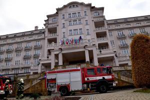 Cvičný požár v karlovarském hotelu Imperial prověřil jeho personál