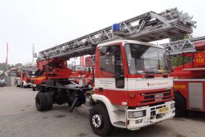 Berounští hasiči si v Německu nechali omladit automobilový žebřík