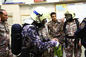 Ozbrojené síly Jordánska přepadly svou návštěvou hasiče Libereckého kraje