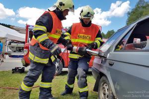 Třinečtí hasiči neobhájili v Chrudimi dva mistrovské tituly z vyprošťování