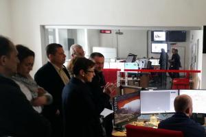 Rakouská delegace významných osobností navštívila jihočeské hasiče