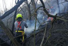 Středočeští hasiči neměli klidnou službu ani na Velký pátek