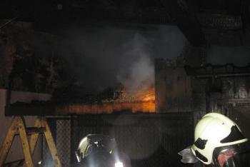 Asi začala sezóna požárů přístřešků. Další hořel v Kunovicích na Vsetínsku