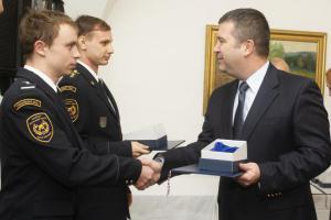 Ministr vnitra Hamáček ocenil sportovce z řad profíků i dobráků (VIDEO)
