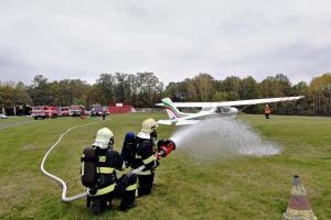 Nehoda letadla prověřila akceschopnost jednotek na Českolipsku