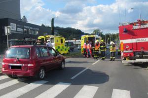 Hasiči asistovali záchranářům a poskytovali posttraumatickou pomoc