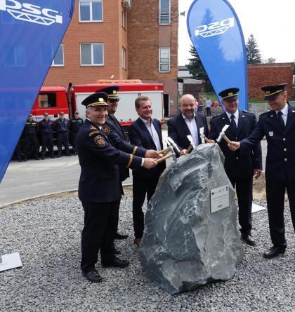 Ve Zlíně budou mít novou budovu, zlepší zázemí pro profesionální hasiče