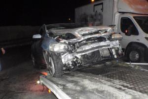 Další nehoda osobního vozu s dodávkou se stala v Morkovicích-Slížanech