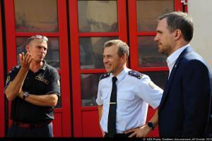 Primátor Prahy Zdeněk Hřib navštívil hasiče na centrální stanici