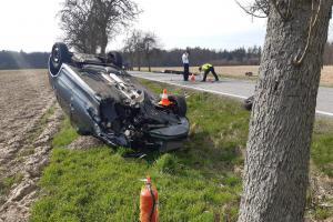 Tragická dopravní nehoda na Nymbursku. Jedna osoba zemřela